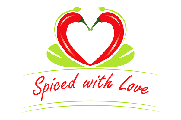 Spiced with Love logo.
