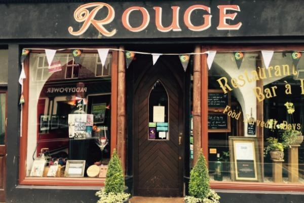 Exterior shot of Rouge Galway