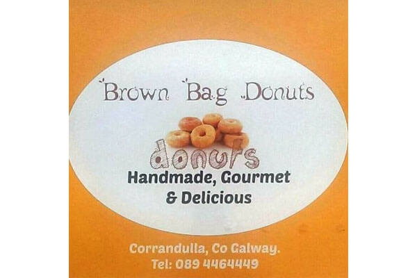 Brown Bag Donuts logo